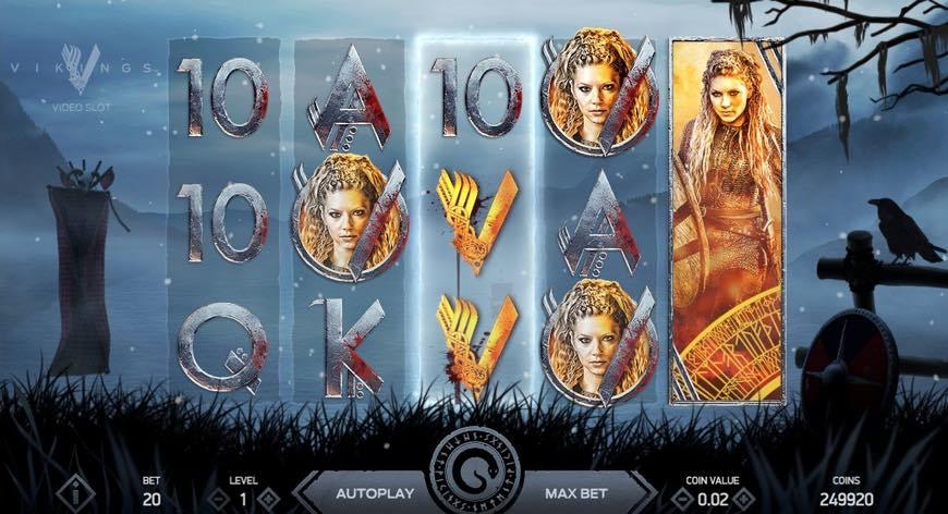 Vikings spillemaskiner